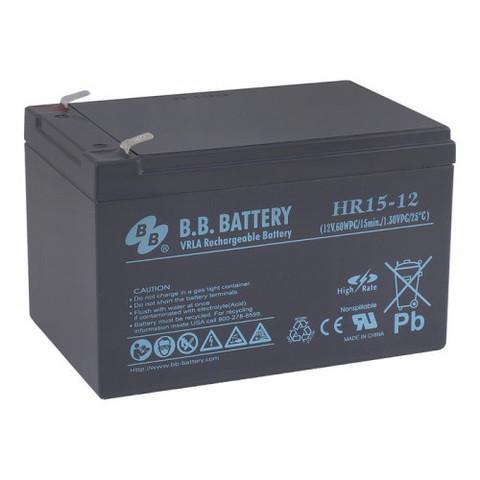 Аккумулятор BB Battery HR 15-12