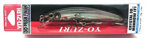 Воблер Yo-Zuri Crystal 3D Minnow 110 F / F1146-C4