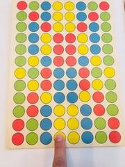 Цветные ходилки для пальцев Сенсорика