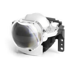 Модуль дальнего/ближнего света MTF light светодиодный, линзованный 12В,  32Вт, 1450лм, 6000К