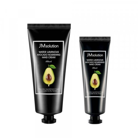 JM Solution Water Luminous Avocade Nourishing Hand Cream 50ml x 1ea, 100ml x 1ea