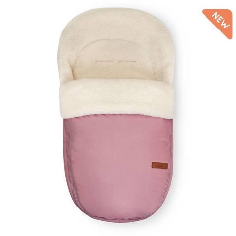 Меховой конверт  Egg Basic romantic pink