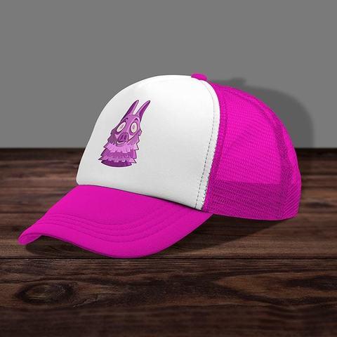 Розовая кепка