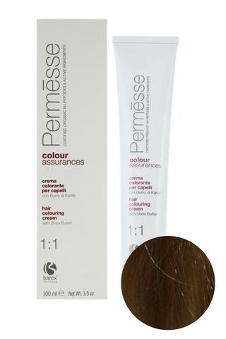 Крем-краска для волос 8.0 Светлый блондин Permesse, Barex