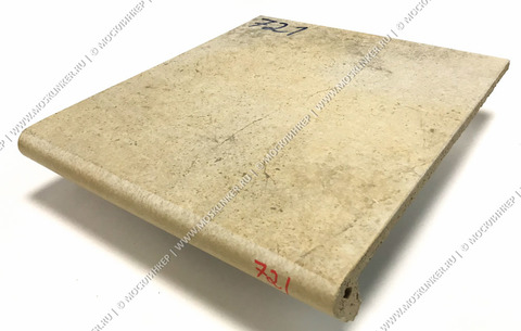 Stroeher - Keraplatte Aera Т 721 roule 340x294x12 артикул 9340 - Клинкерная ступень - флорентинер