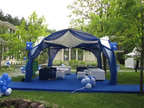 Арочный шатер 3,5х3,5 (12 м²)