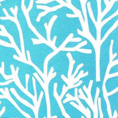 Хлопковая ткань Форест уличная коллекция голубой
