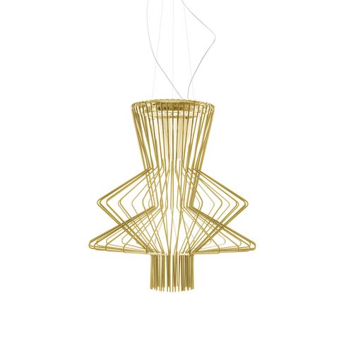 Подвесной светильник копия Allegretto Ritmico 2 by Foscarini (золотой)