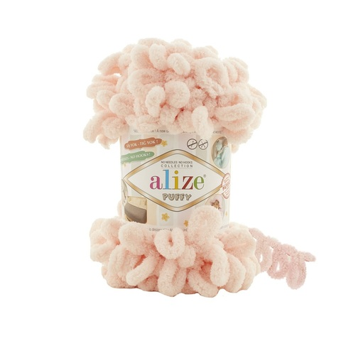 Пряжа Alize Puffy цвет 714