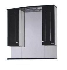 Зеркало-шкаф SanMaria Венге-80 черный