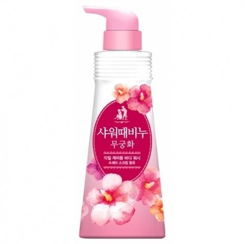 Жидкое мыло для тела Ароматерапия Цветы Mukunghwa 500 мл