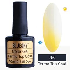 Bluesky, Гель-лак Termo top coat №06, 10 мл