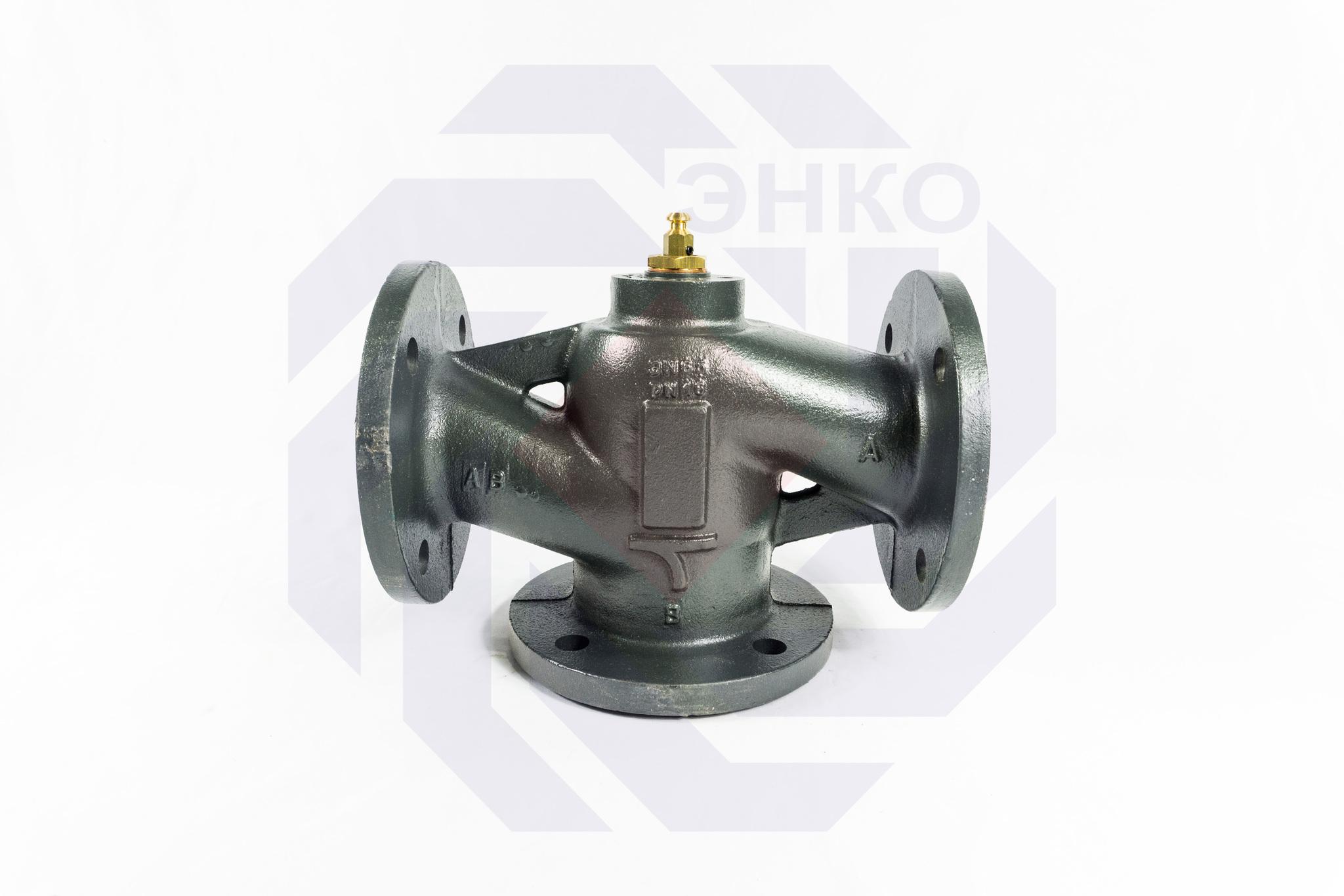 Клапан регулирующий трехходовой MUT MK DN 65