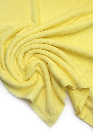 Махровое полотно, лимонный,160см