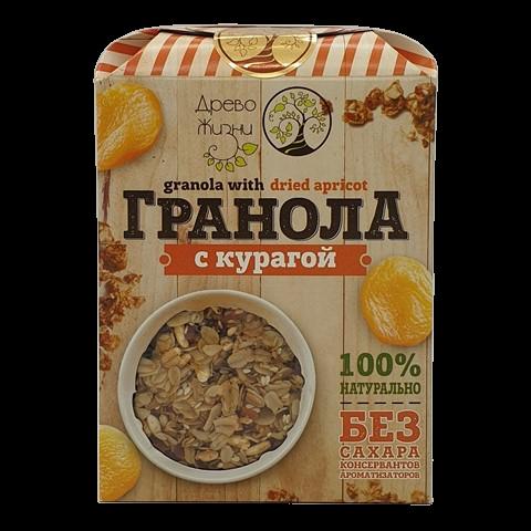 Гранола с курагой ДРЕВО ЖИЗНИ 400 гр