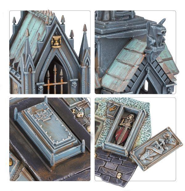 Sigmarite Mausoleum. Детали