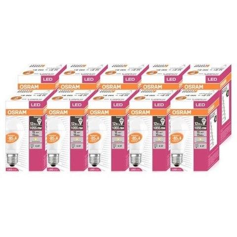 Лампа светодиодная Osram LED CLAS A 100 12W/827 320° 1060lm 220V E27 4052899214767