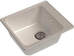 Мойка GranFest (ГранФест) 420 GF-Z17 для кухни из искусственного камня, белый
