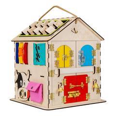 Дом Чудесный с  Разноцветными дверками. Размер 30 30 40 см.