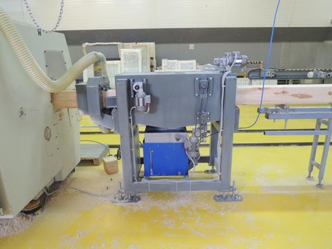 Камера проходного типа для пропитки древесины антисептиками