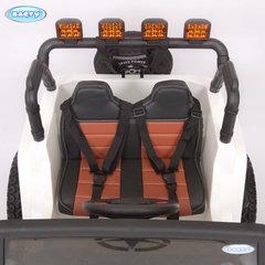 Электромобиль Jeep Wrangler Т555МР полный привод (4х4). COMBAT