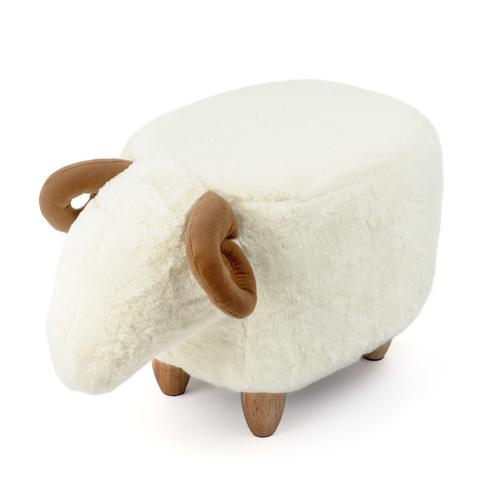 Пуф дизайнерский Le Mouton белый