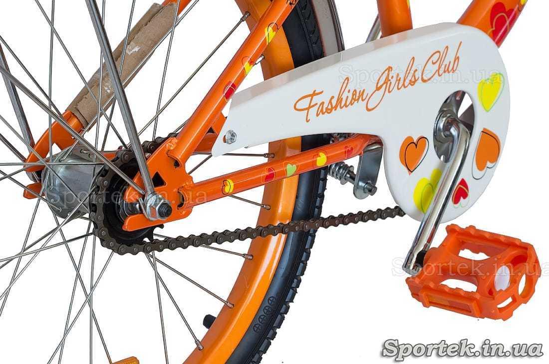 Трансмиссия велосипеда Formula Flower