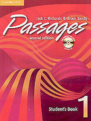 Passages Second Edition Level 1 Student's Book with Audio CD/CD-ROM