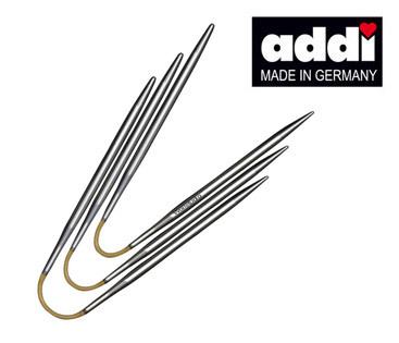 Спицы чулочные гибкие Addi CraSyTrio 3 мм / 21 см