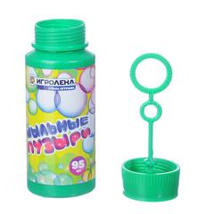 Мыльные пузыри 95мл, ИГРОЛЕНД