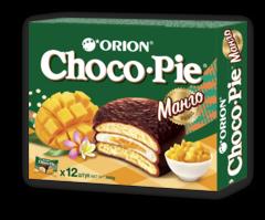 """Печенье """"Orion"""" Choco-pie Манго 12шт 360г"""