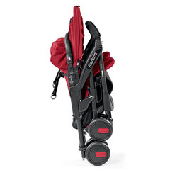 Коляска прогулочная для двойни  Peg Perego Aria Twin Shopper Mod Red