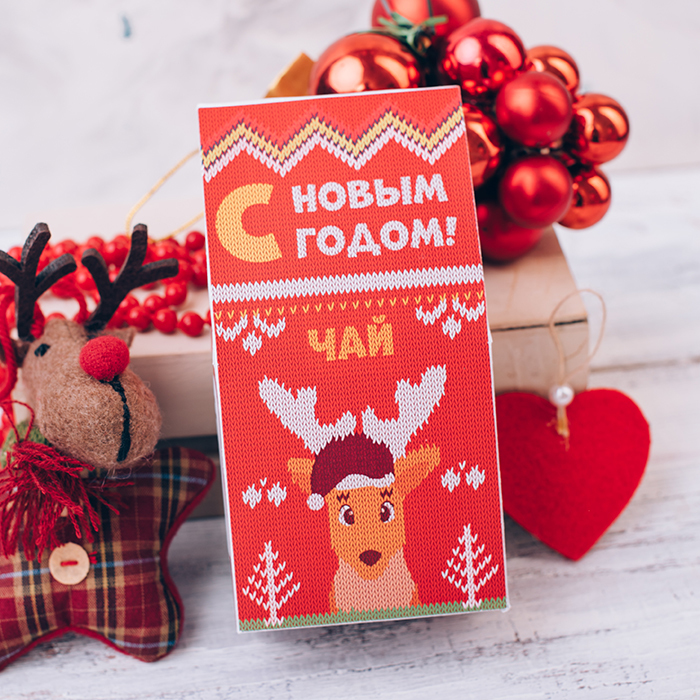 Купить подарок на Новый год ЧАЙ С КОРИЦЕЙ
