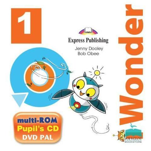 i-Wonder 1. Pupils Multi-Rom Pal (International). Аудио CD/ DVD видео