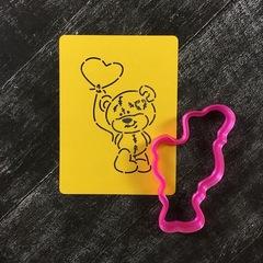 Мишка Тедди №22 с шариком-сердцем