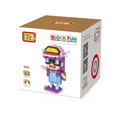 Конструктор LOZ Аниме Арале Норимаки 700 деталей NO. 9752 Anime Arale iBlockFun Series