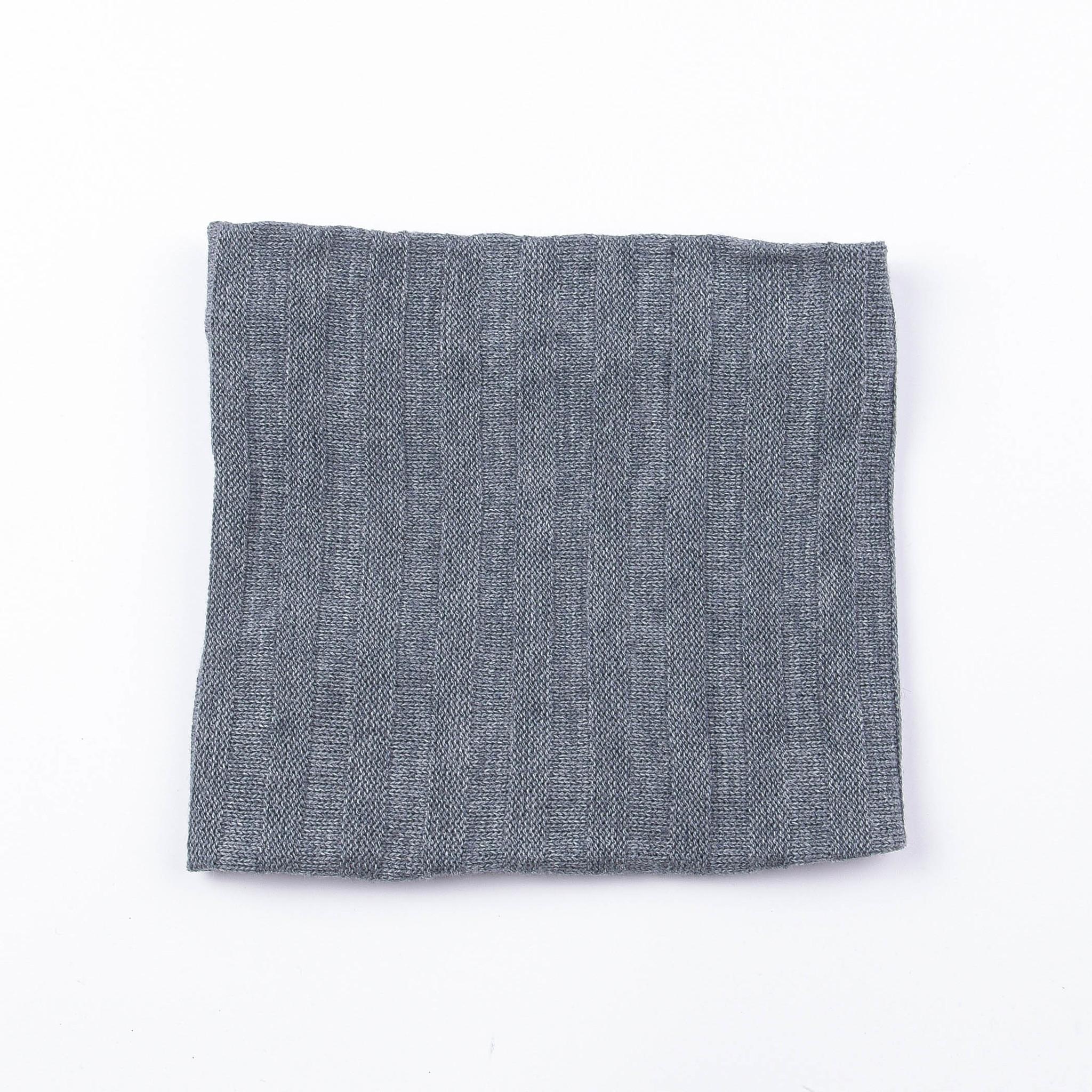 Knitted snood - Graphite Melange