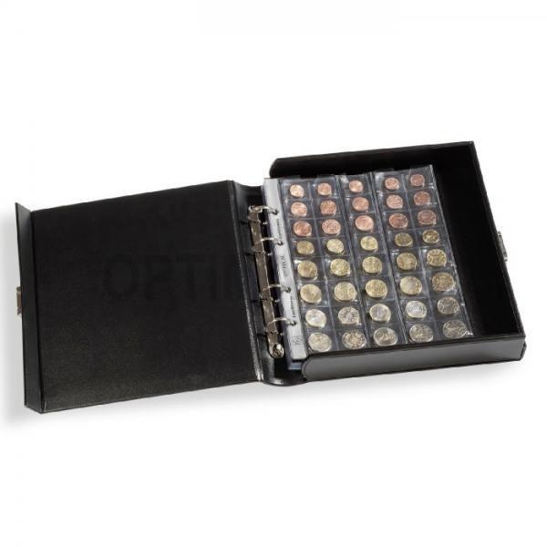 Папка бокс Classic Optima с кольцевой О механикой. 60/15 листов. 250х277 мм