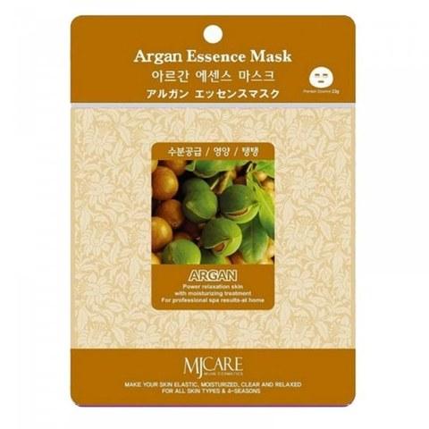 Маска тканевая аргана MIJIN Cosmetic Argana Essence Mask