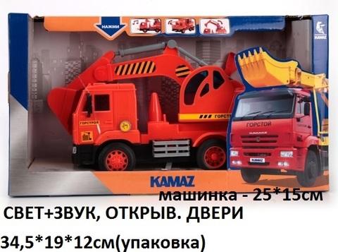 Машина Камаз WY303K экскаватор (СБ) технопарк