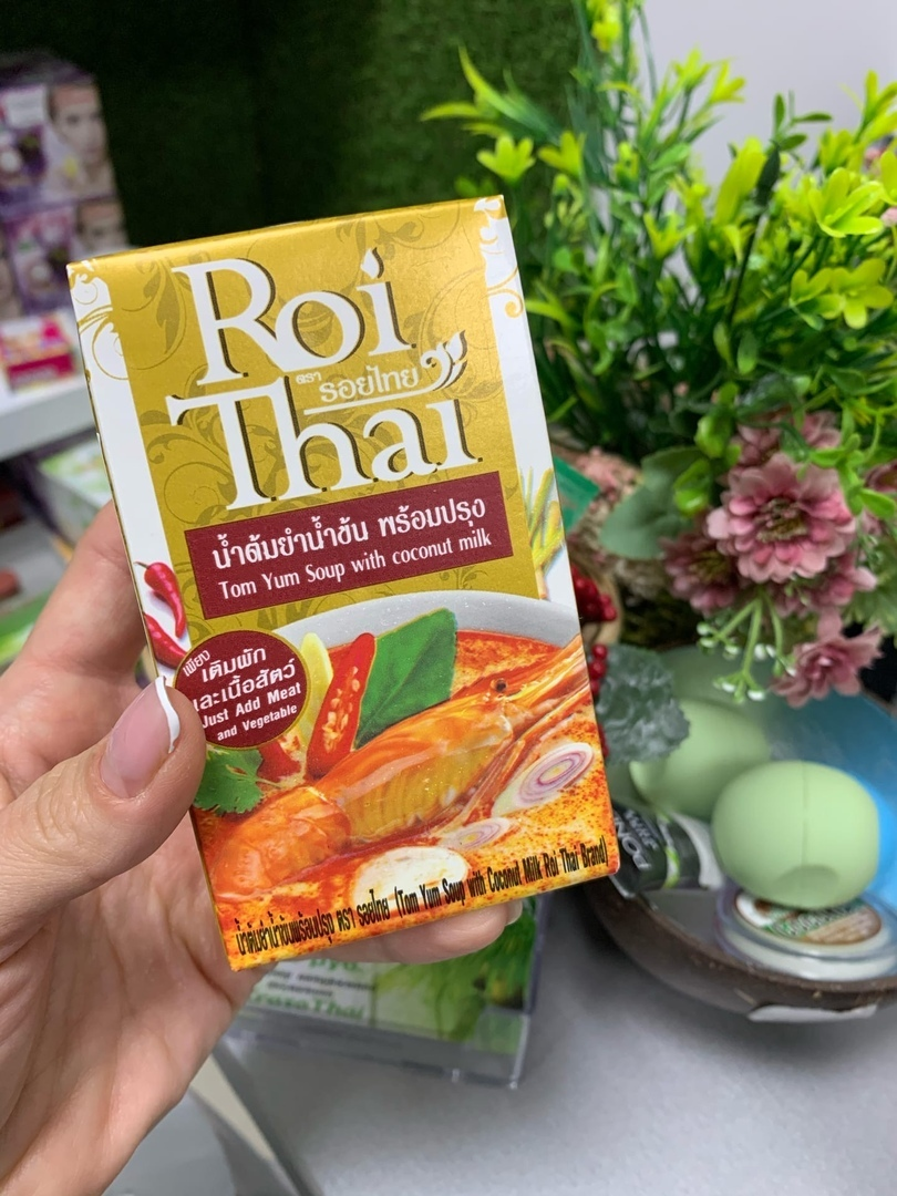 Тайский суп-основа с кокосовым молоком Том Ям Roi Thai купить в Иркутске
