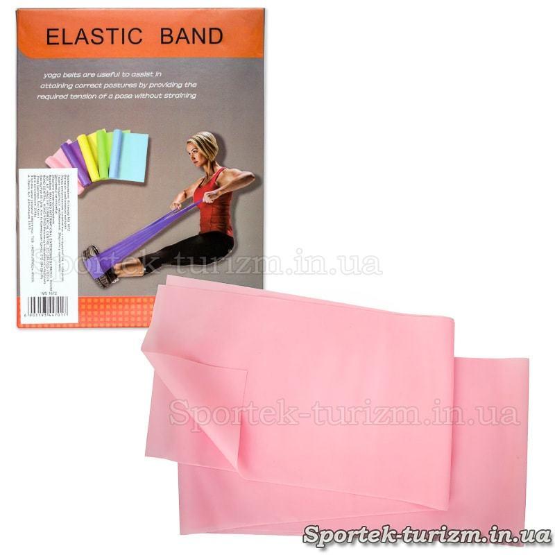 Лента эспандер (резинка) для фитнесСтрічка еспандер (гумка) для фітнесу та спорту еластична 1500х150мма и спорта эластичная 1500х150мм