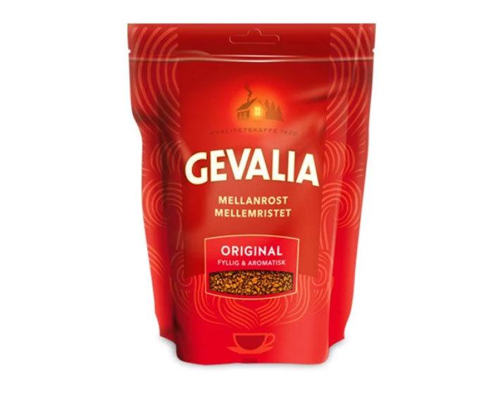 купить Кофе растворимый Gevalia Mellanrost Original, 200 г пакет