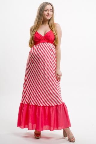 Платье для беременных 05948 красный