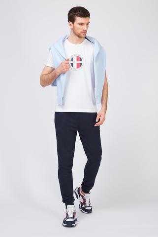Мужские темно-синие спортивные брюки Tommy Hilfiger