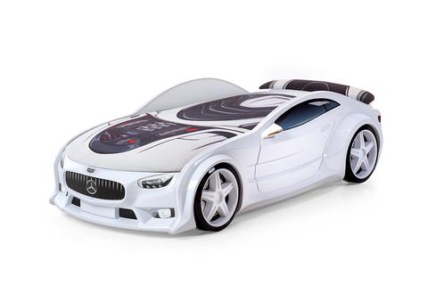 Объемная (3d) кровать-машина NEO
