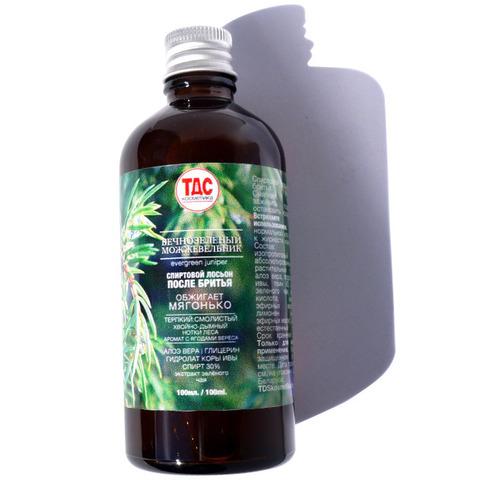 Лосьон ТДС спиртовой после бритья: Вечнозелёный можжевельник 100мл