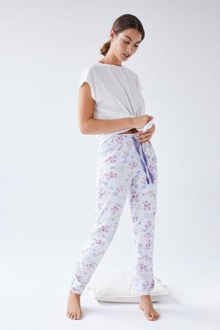 Сірі довгі штани з органічної бавовни