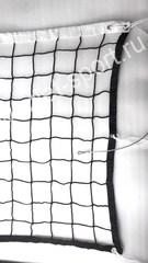 Сетка волейбольная ПРОФ d=4.0мм с тросом.