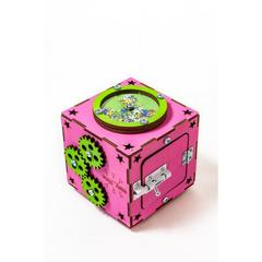 Easy Time Развивающий БизиКуб мини (розовый) (mr01)